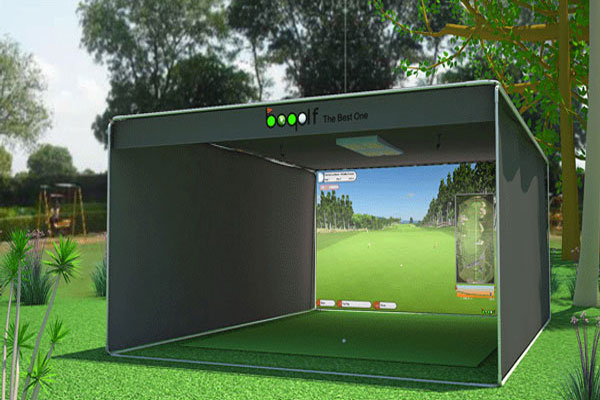 Model 3000v Camera Golf Simulator Bogolf India